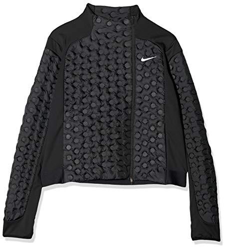 Nike Aeroloft Chaqueta, Mujer, Black/Reflective silv, XL