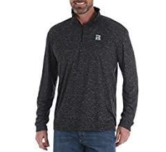 Wrangler Riggs Workwear Mens Big /& Tall Rigg Workwear Big /& Tall 1//4 Zip Performance Pullover