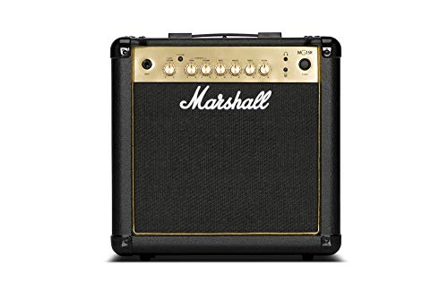 Marshall MG4 Gold Series MG15GR 15-Watt Guitar Combo Amplifier Latest Version with Reverb and 2 Channels