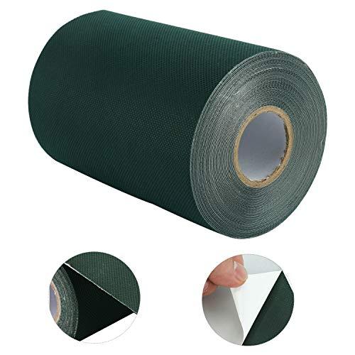 NiceDD Cinta adhesiva de césped artificial de 15 cm x 10 m, con costura de césped artificial, 15 cm x 10 m.