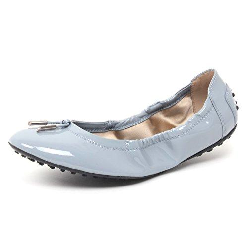 Tod's B4380 Ballerina Donna DEE Scarpa Azzurro Shoe Woman [35.5]