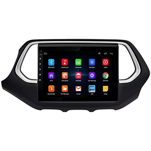 Android 9.1 8 Core 2.5D Pantalla Estéreo para automóvil Navegación por satélite Radio DVD Control del volante Reproductor de video Navegación GPS multimedia para Trumpchi GS4 2017(Color:WiFi 2G+32G)