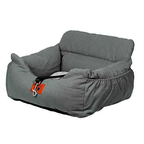 wenyujh 2-in-1 Autositz Bett für Hunde Hundesitz Hundebett wasserfest rutschfest Autokörbchen Hundedecke Hundekorb Sitzerhöhung für Rückbank