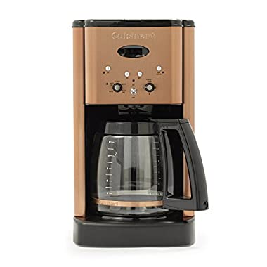 Cuisinart Brew Central Programmable Coffee Maker, 12 Cup, Copper