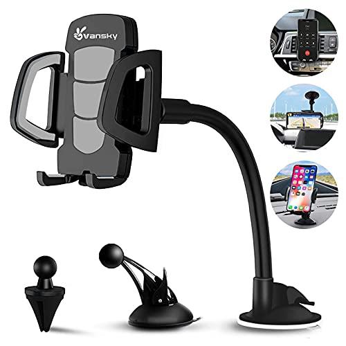 Phone Holder for Car, Vansky 3-in-1…