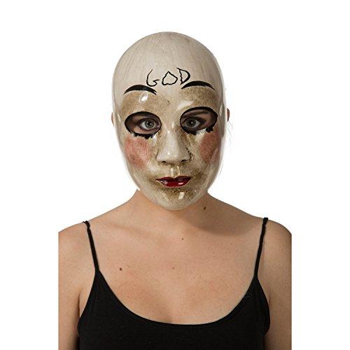 Purge-Maske 204576 von Viving Constumes (Einheitsgröße)