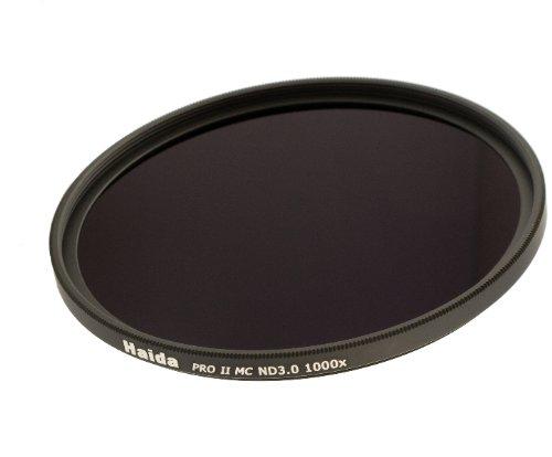 Haida PRO II Serie MC (mehrschichtvergütet) Neutral Graufilter ND1000 - 77mm - Inkl. Cap mit Innengriff