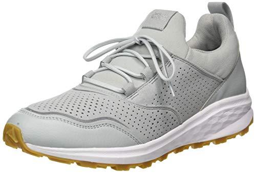 Jack Wolfskin Herren Coogee XT Low M Sneaker, Light Grey/White, 45 EU