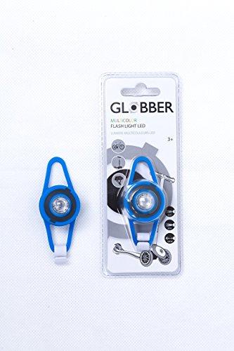 Globber Lampe LED Accessoire Clignotant Mixte Enfant, Bleue, Taille Unique