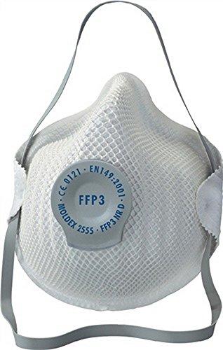 Protezione appannamento maschera 2555 FFP3NRD esempio 30 x AGW-valore MOLDEX EN149:2001 + A1: 2009, 20 pcs