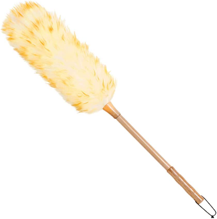 Nicknocks Soft Non-Static OFFicial store Feather Dusters outlet with for Long Cleaning