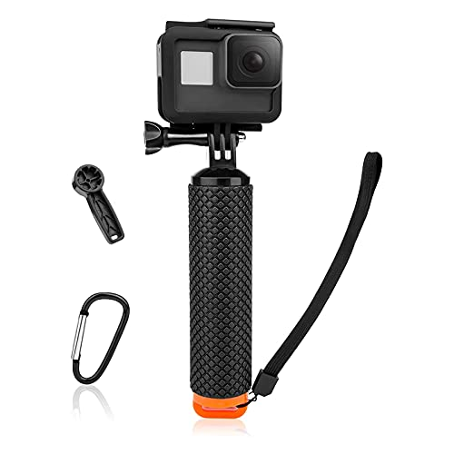 Luxebell Floating Hand Grip, Pole Mount for Gopro Hero 9 8 7 6 5 Max Session 4 3+, Handle Mount Accessories for AKASO EK7000 V50 Pro Brave 4 Dragon Crosstour Campark DJI OSMO Action Camera