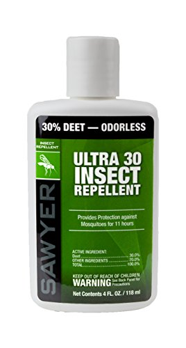 Sawyer Products SP534 Ultra 30% Insect Repellent Lotion, 4-Ounce,White