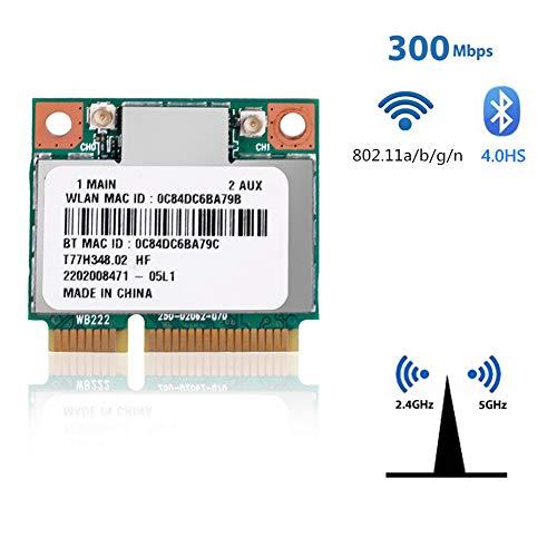 Duokon Netzwerkkarte WiFi Atheros AR9462 AR5B22 Mini PCI-E 802.11N WLAN Karte Drahtlose Karte Bluetooth 4.0 2.4 und 5 GHz
