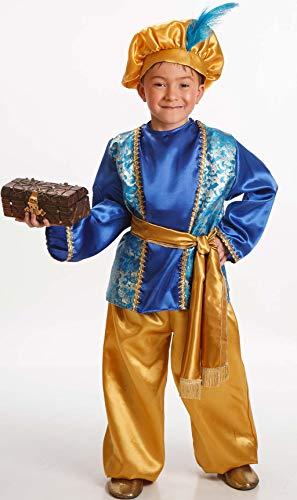 Disfraz de Paje Azul para Nio en varias tallas