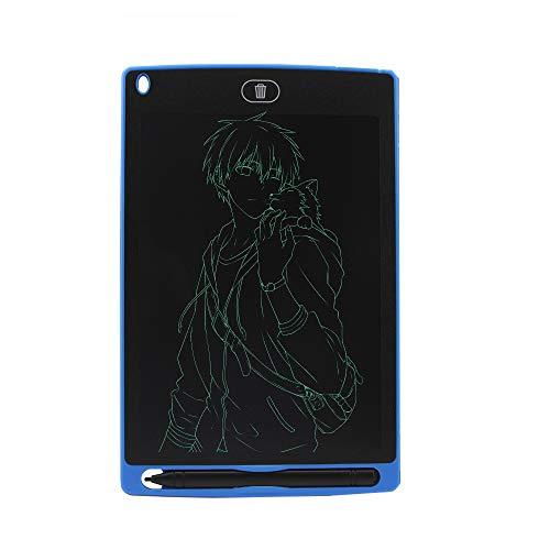 NBWS - Tableta de escritura LCD de 8,5 pulgadas, escritor electrónico colorido con cerradura para regalos de fiesta para niños (sin función de guardar)