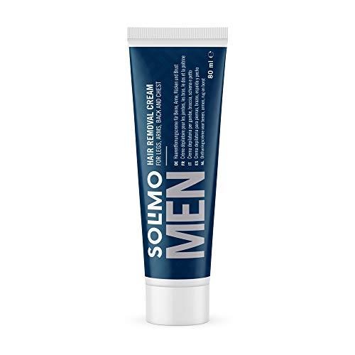 Amazon-Marke: Solimo Men Haarentfernungscreme, 80ml