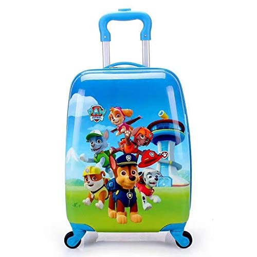 Cartoon Cute Child Boarding Box Children's Lever Box 18 inches Wang Wang Team