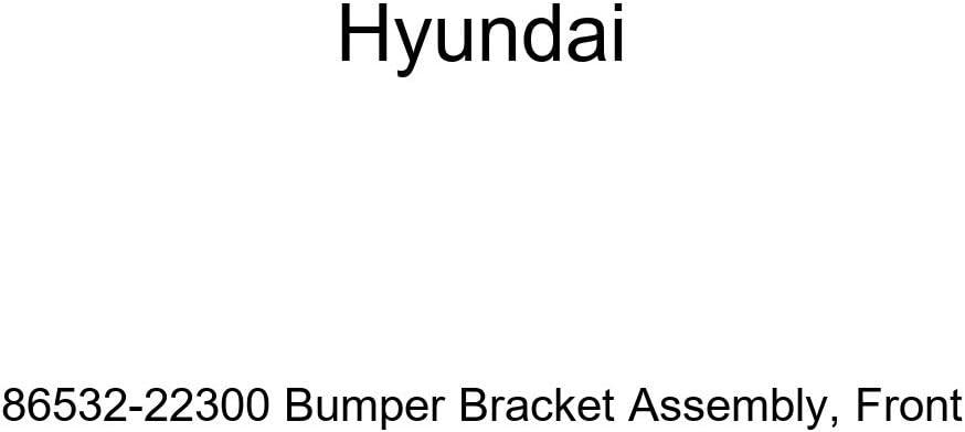 Genuine Hyundai 86532-22300 Bumper Front Bracket Now on sale San Jose Mall Assembly