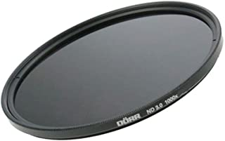 Dörr Digi Line ND 3.0 1000x Graufilter für Objektiv mit Ultra Slim Filterfassung (52 mm) schwarz
