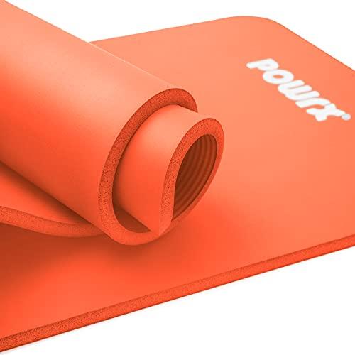 POWRX Gymnastikmatte I Yoga-Matte inkl....