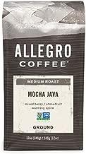 Allegro Coffee Mocha Java Ground Coffee, 12 oz