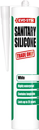 evo-stik 483620290ml silicone sanitario–bianco