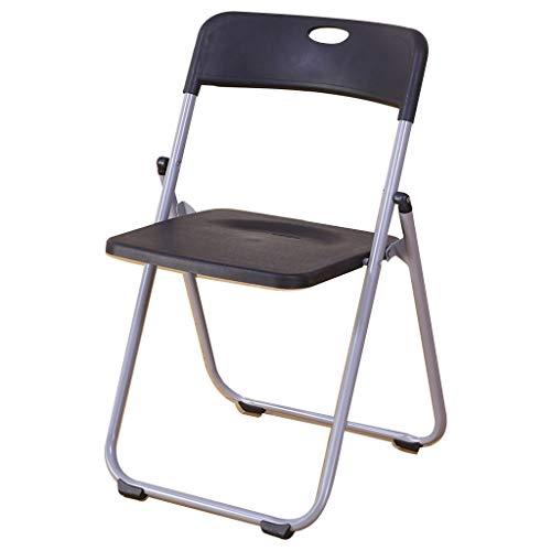 JIAX Openbare stoel van massief staal premium klapstoel bureaustoel met metalen frame campingstoel opvouwbare dubbele steun