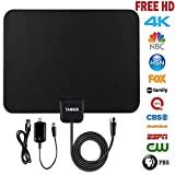 TV Antenna hd,50 Mile Range Amplified Digital Antenna with Amplifier Signal...