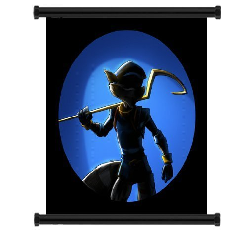 Daaint baby Sly Cooper: Thieves in Time Game Fabric Wall Scroll Poster (16'x21')