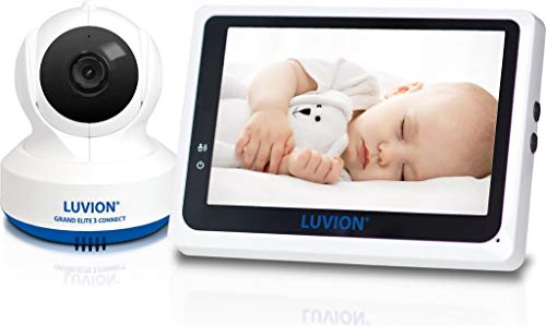 """Luvion Babyphone-Kamera mit WIFI-Verbindung und LCD-Bildschirm 4.3"""""""