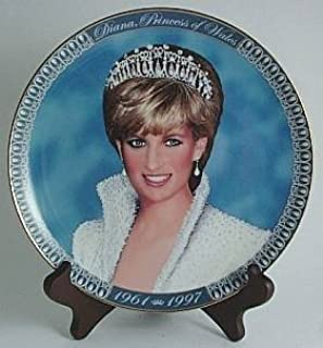 Kabin Limited Edition Plate a Tribute to Princess Diana from The Franklin Mint PSN66