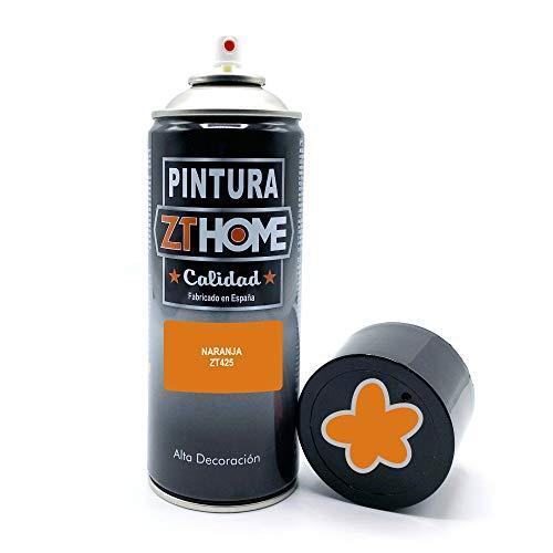Pintura Spray Naranja Oscuro 400ml imprimacion para madera, metal, ceramica, plasticos / Pinta todo tipo de cosas y superficies Radiadores,...