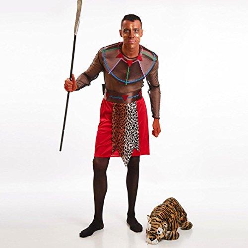 Disfraz de Guerrero Masi para hombre