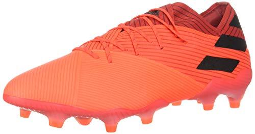 Adidas mens NEMEZIZ 19.1 FG Soccer Shoe, SIGCOR/CBLACK/GLORED, 8.5 US