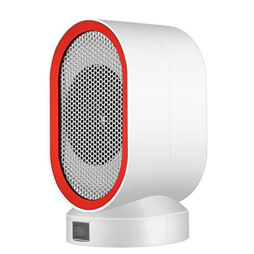WYW 400W Mini Calefactor Eléctrico Cerámico Baño,Calefacción Eléctrica Silenciosa Bajo Consumo, Portátil Calefactores Aire Caliente Pequeño,4