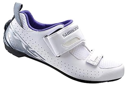 SHIMANO Shtr5oc430sw00, Scarpe da Ciclismo su Strada Uomo, Bianco (White), 43 EU