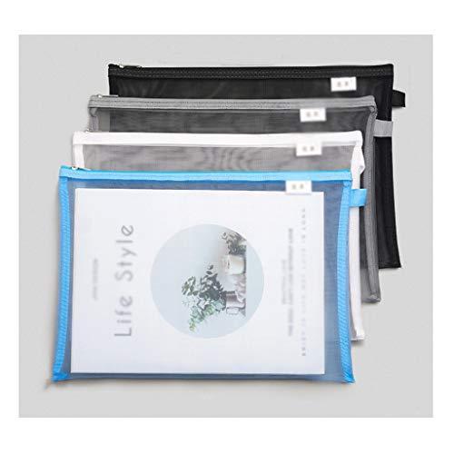 Soporte de máquina de fax Bolsa de Malla con Cremallera Bolsa de...