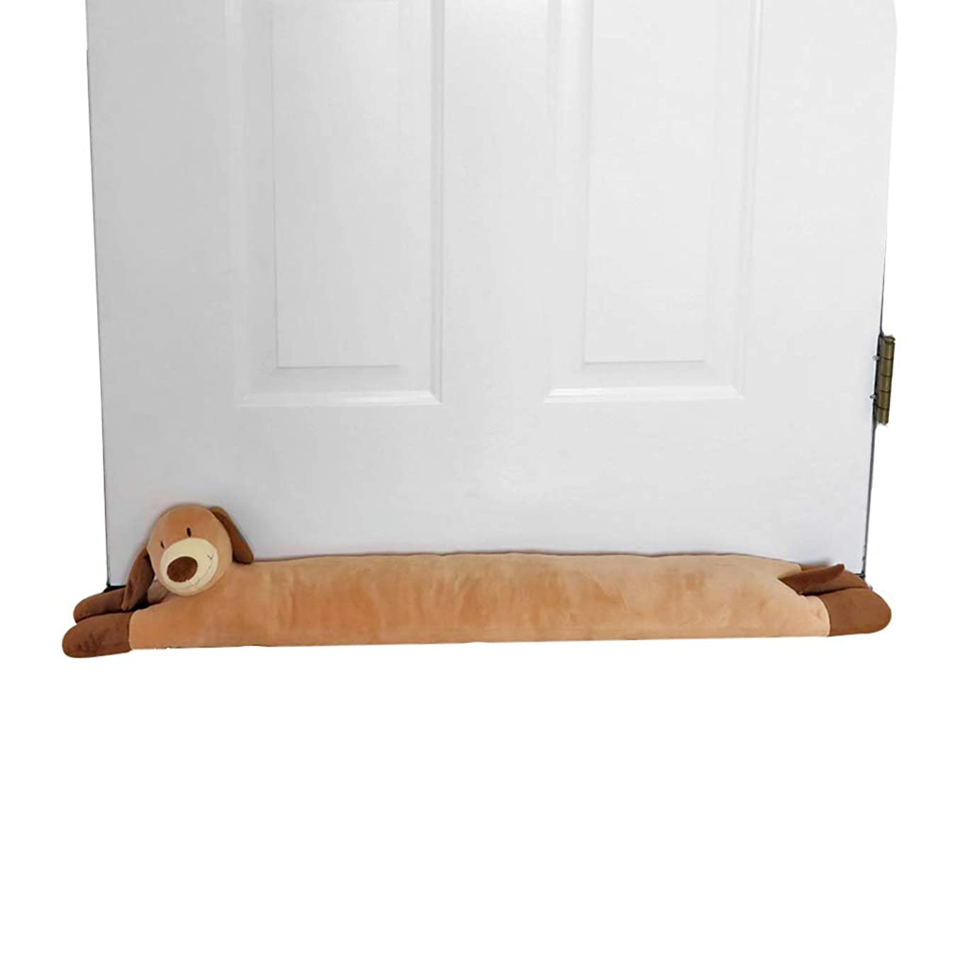 Evelots Dog Door Window Draft Stopper-37 -No Noise,Bug,Insect-Keep Heat in
