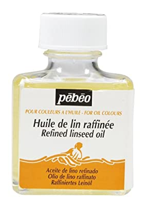 Pebeo 75 ml Refined Linseed Oil, Transparent