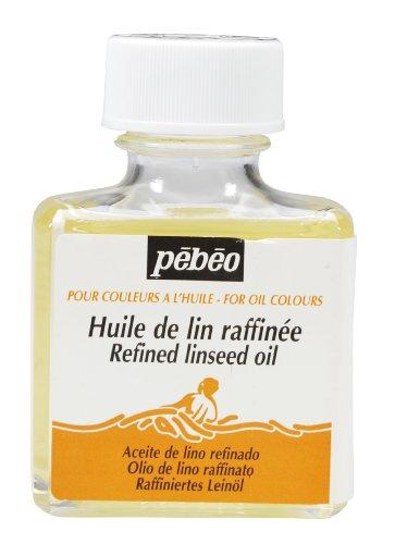 Pébéo Raffiniertes Leinöl 75 ML-Ölfarbenverdünner, Durchsichtig