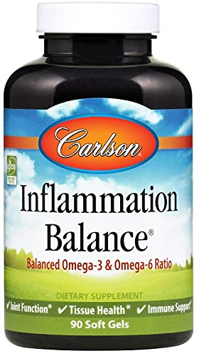 Carlson Labs Inflammation Balance Softgels, 90-Count