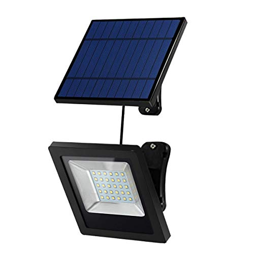 Solar Lights Outdoor, Hikeren IP65 Waterproof Solar Lights(White Light), 30 LED Solar Spot Light,...