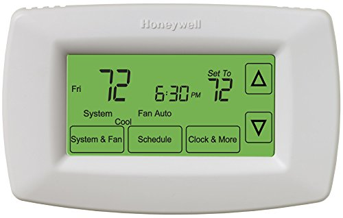 Honeywell RTH7600D Touchscreen 7-Day Programmable Thermostat (Renewed)