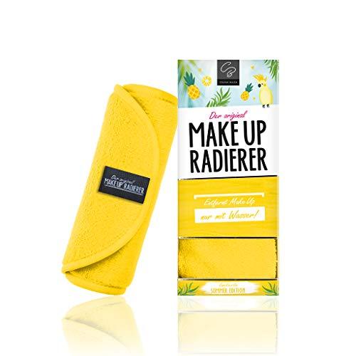 L'original gomme de maquillage en microfibre chiffon démaquillant (chiffon | 1 pièce, jaune)