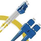 LC to SC Single Mode Fibre Patch Cable Duplex - 2M...
