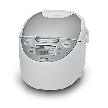 Tiger JAX-S10U-WY 5.5-Cup  Uncooked  Micom Rice Cooker & Warmer Steamer and Slow Cooker