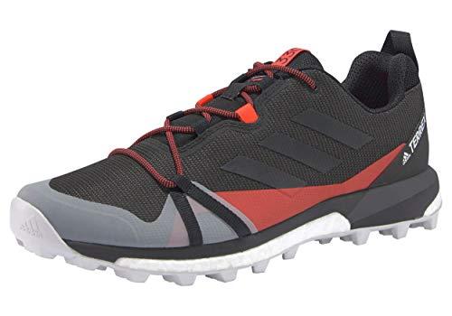 adidas Terrex Skychaser LT, Scarpe da Trekking Uomo, Grisei/Gricua/Rojsol, 42 2/3 EU