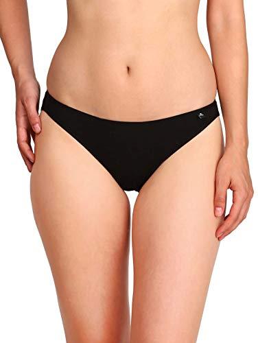 Jockey Women's Cotton Bikini Brief (SS02_Black_L)