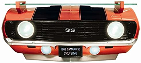 Chevrolet 1969 Camaro SS Red Front End Wall Shelf (Working Lights)